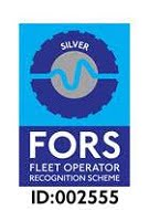 Hunts Transport FORS silver HIABS Surrey